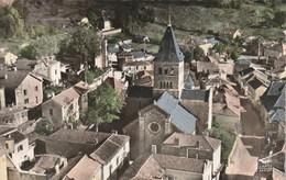 Carte Postale Des Années 50-60 Du Lot - Cazals - Notre Dame De Cazals Et Vue Générale - Cazals