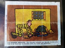 KAUGUMMI AMERICANA LARGE BUBBLE GUM WAX WRAPPER - About 1970 - Süsswaren