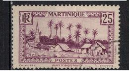 MARTINIQUE               N°     YVERT    140      OBLITERE       ( Ob  5/17 ) - Martinique (1886-1947)
