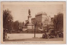 Warszawa. Pomnik Mickiewicza. - Pologne