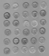 SUISSE  LOT DE 30 PIECES DE 20 CENTIMES (VOIR ANNéES) - Suiza