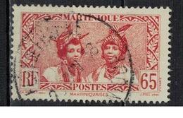 MARTINIQUE               N°     YVERT    145    OBLITERE       ( Ob  5/17 ) - Martinique (1886-1947)