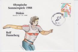 Korea Cover 1988 Seoul Olympic Games - Diskus (G96-29) - Summer 1988: Seoul