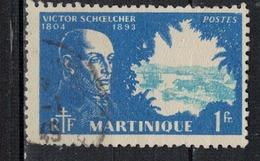MARTINIQUE               N°     YVERT    206   OBLITERE       ( Ob  5/18 ) - Martinique (1886-1947)