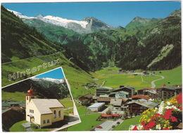 Hintertux, 1500 M Im Tuxertal - Zillertal - Tirol Mit Olpener, 3476 M Und Tuxer Gletscher - Zillertal