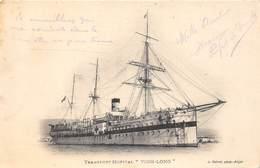 "BÂTEAU-TRANSPORT HOPITAL "" VINH-LONG - Barche"