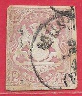 Bavière N°21 12k Lilas 1867-69 O - Bavière