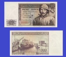 Poland  500 Zloty 1939 - Pologne