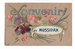 Mussidan    (  Belle Carte Avec Fleurs ) - Saluti Da.../ Gruss Aus...