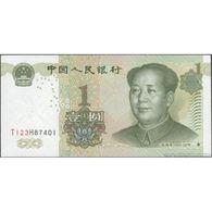 TWN - CHINA 895d - 1 Yuan 1999 (2018) Prefix T123H UNC - Cina