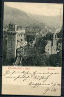 "CPA S/w AK Österreich,Austria Waidhofen A.Ybbs 1900"" Waidhofen-Schloss ""1 AK Used - Waidhofen An Der Ybbs"