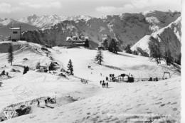AK 0305  Skigebiet Erfurter-Hütte ( Rofan ) - Blick Ins Karwendel Um 1960 - Achenseeorte