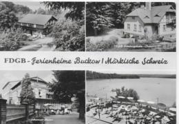 AK 0305  FDGB-Ferienheime Buckow / Ostalgie , DDR Um 1973 - Buckow