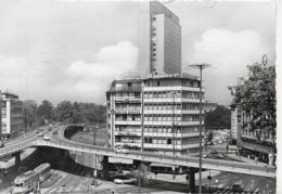 AK 0305  Düsseldorf - Auto-Hochstrasse Mit Thyssen-Hochhaus Um 1966 - Düsseldorf