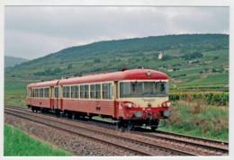 FRANCIA   SANTENAY    TRAIN- ZUG- TREIN- TRENI-GARE- BAHNHOF- STATION- STAZIONI  2 SCAN  (NUOVA) - Treni