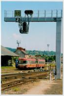 FRANCIA   MONTLUCON     TRAIN- ZUG- TREIN- TRENI-GARE- BAHNHOF- STATION- STAZIONI  2 SCAN  (NUOVA) - Treni