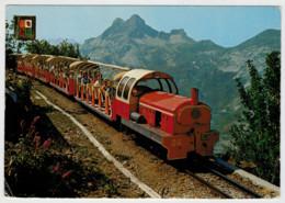 FRANCIA   ARTOUSTE        TRAIN- ZUG- TREIN- TRENI-GARE- BAHNHOF- STATION- STAZIONI  2 SCAN  (VIAGGIATA) - Treni