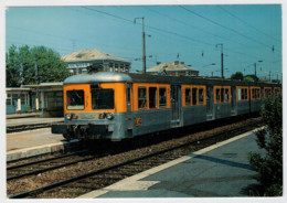 FRANCIA   AULNOYE       TRAIN- ZUG- TREIN- TRENI-GARE- BAHNHOF- STATION- STAZIONI  2 SCAN  (NUOVA) - Treni