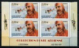RC 13154 FRANCE PA N° 72a LOUIS BLÉRIOT COIN DATÉ PROVENANT DU FEUILLET A LA FACIALE NEUF ** TB - 1960-.... Neufs