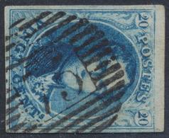 """Médaillon - N°11A Bien Margé Obl P75 """"Lokeren"""". TB - 1858-1862 Medaillen (9/12)"""