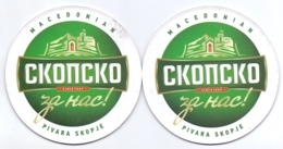#D231-043 Viltje Macedonian Pivara Skopje - Beer Mats