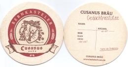#D200-285 Viltje Bernkasteler Cusanus Bräu - Sous-bocks