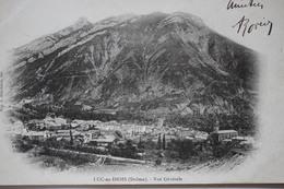 Luc En Diois Dos Simple Circulé 1903 - Luc-en-Diois