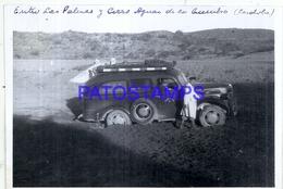 118429 ARGENTINA CORDOBA AUTOMOBILE CAR AUTO & MAN 13 X 9 PHOTO NO POSTCARD - Fotografie