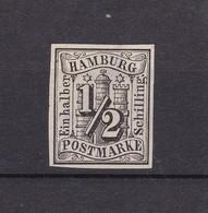 Hamburg - 1859 - Michel Nr. 1 - 70 Euro - Hamburg