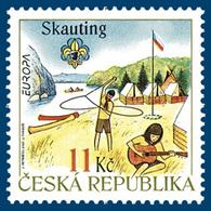 ** 515 Czech Republic EUROPA 2007 - Scouting - Pfadfinder-Bewegung