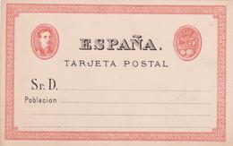 Entier  Postal Stationery - Tarjeta Postal -  España - Unclassified