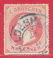 Hanovre N°24 1g Rose 1864 (HILDESHEIM) O - Hannover