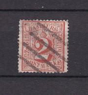 Hamburg - 1864 - Michel Nr. 13 - Vierstrichstempel - 30 Euro - Hamburg