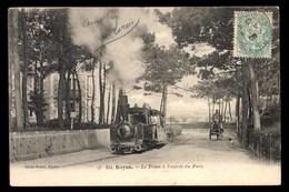 FRANCE, Royan, Tramway à Vapeur A L'entree Du Parc (17) - Royan