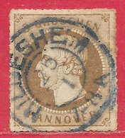 Hanovre N°26 3g Bistre 1864 (HILDESHEIM) O - Hanovre