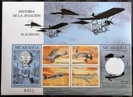 Nicaragua 2000**Mi.4128-33 Airplanes , MNH [17II;20] - Flugzeuge
