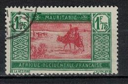 MAURITANIE                N°     YVERT  60 B             OBLITERE       ( Ob  5/18 ) - Mauritania (1906-1944)