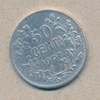 België/Belgique 50 Ct Leopold II 1907 Fr Morin 202 (89378) - 1865-1909: Leopold II