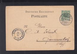 Dt. Reich Frankreich France PK Colmar 1897 - Briefe U. Dokumente