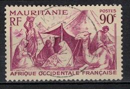 MAURITANIE                N°     YVERT  109             OBLITERE       ( Ob  5/18 ) - Mauritania (1906-1944)