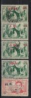 MAURITANIE                N°     YVERT  133/137            OBLITERE       ( Ob  5/18 ) - Mauritania (1906-1944)