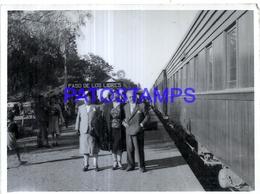 118450 ARGENTINA CORRIENTES PASO DE LOS LIBRES STATION TRAIN ESTACION DE TREN ANDEN BREAK 12 X 8.5 PHOTO NO POSTCARD - Fotografie