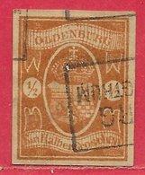 Oldenbourg N°11 0,5g Brun-rouge 1860 (faux) O - Oldenburg