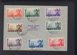 Lettera Libia Hitler Mussolini - Poststempel