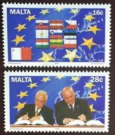 Malta 2004 Accession To EU MNH - Malta