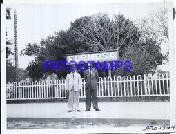 118453 ARGENTINA FORMOSA STATION TRAIN ESTACION DE TREN ANDEN AÑO 1944 12 X 9 CM PHOTO NO POSTAL POSTCARD - Fotografie