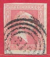 Prusse N°6 1s Rose 1857 O - Prusse