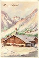 """Cartolina """"Buon Natale"""", Paesaggio Invernale (S32) - Altri"""