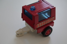 Kosto Toys,M.depose Trailer, Made In France, 1980's *** 8 Cm (style Tonka) - Dinky