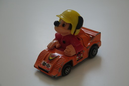 GUISVAL DISNEY SERIES MICKEY MOUSE RACING CAR , Vintage , 1970'S - Matchbox (Lesney)